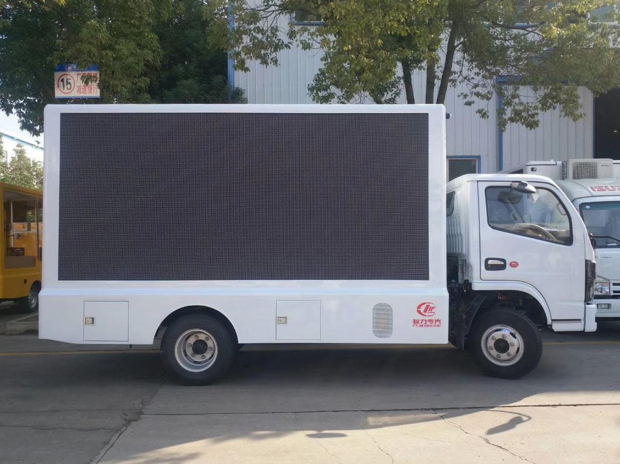东风多利卡国六广告车